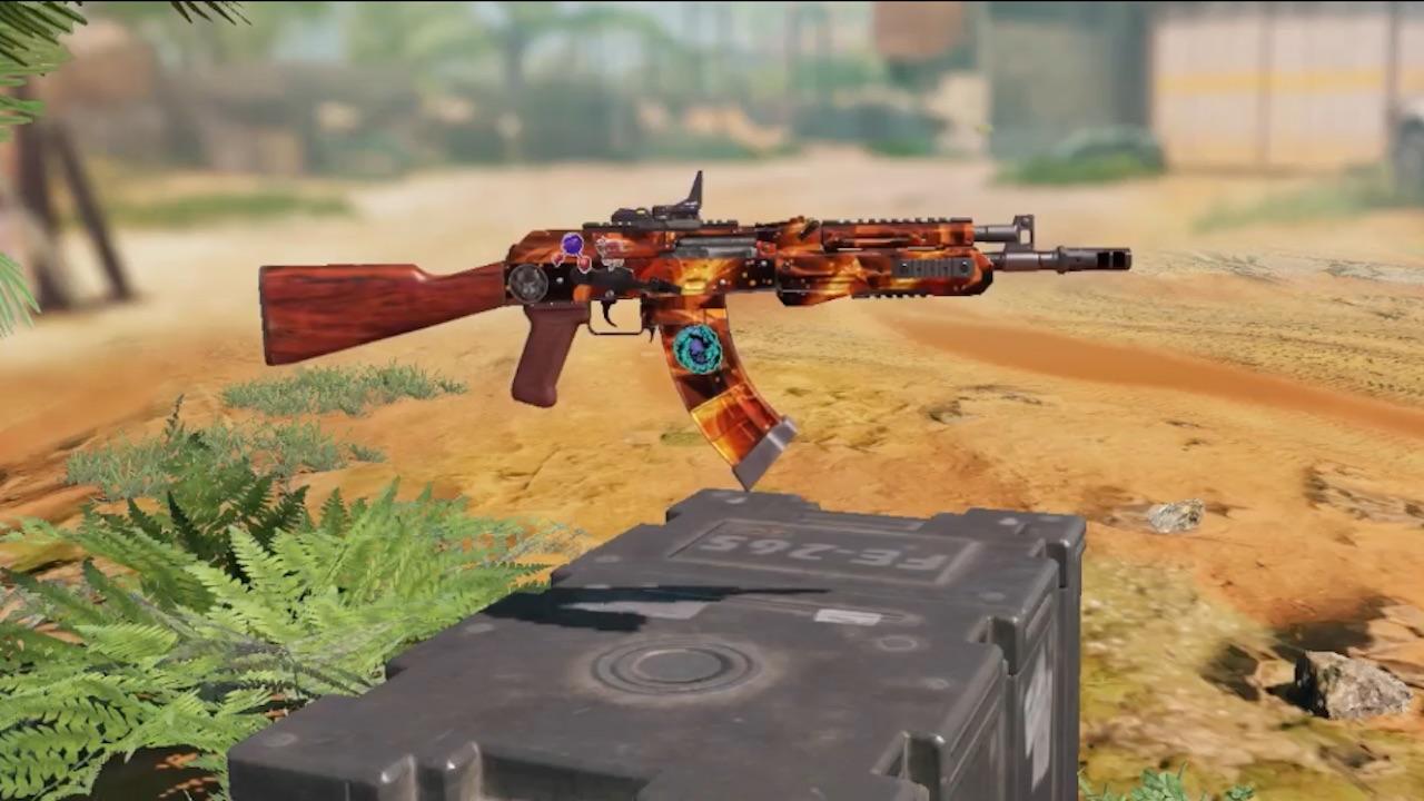 CODM Fusil de Asalto AK-74