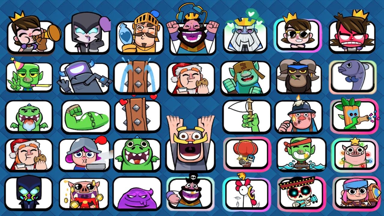 Clash Royale | Torneos y Emotes del Canal 7ernand0 en Youtube