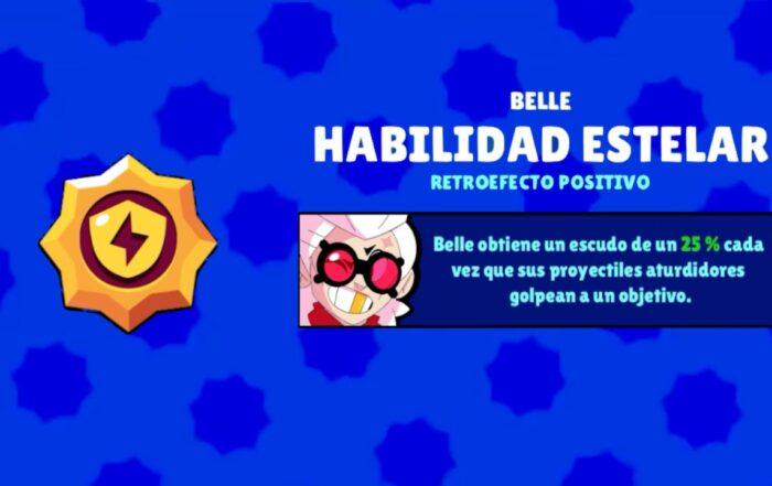 brawl stars belle habilidad retroefecto positivo