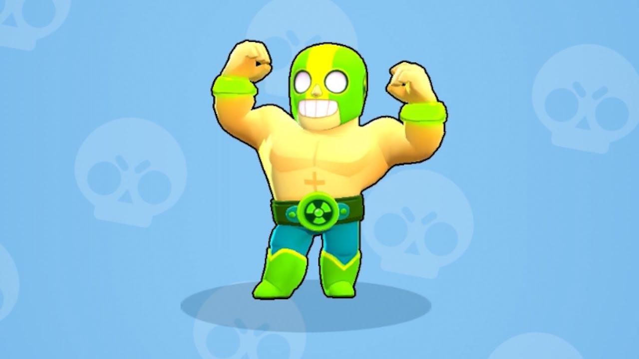 brawl stars el primo skin atomico