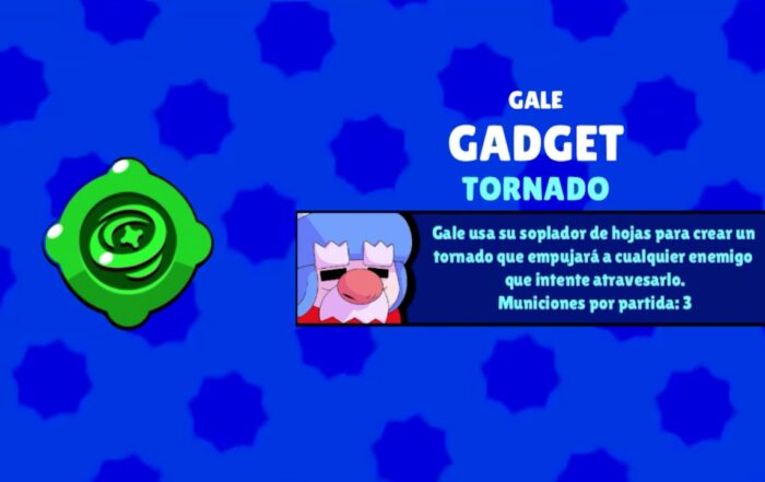 brawl stars gale gadget tornado