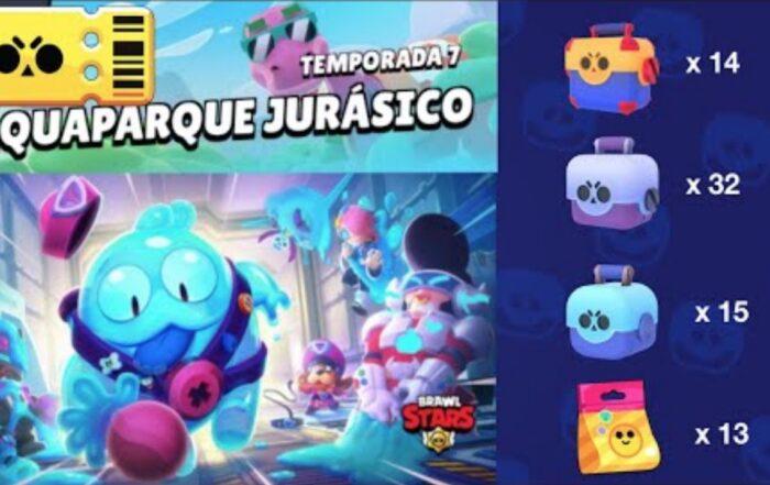 brawl stars temporada 7 aquaparque jurasico