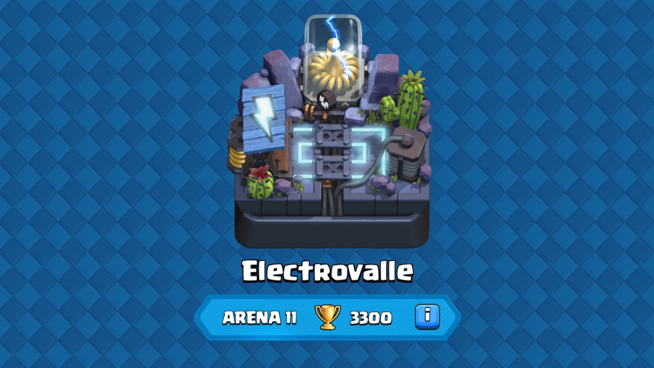 clash royale arena 11 electrovalle