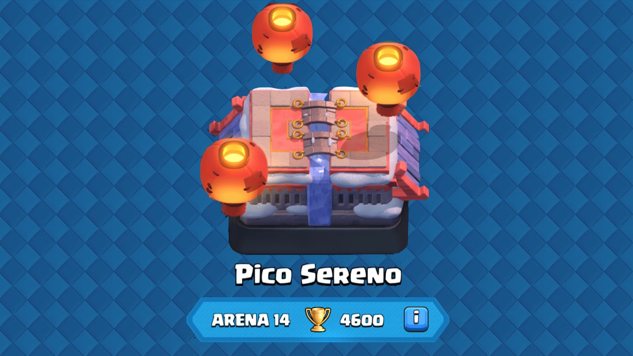 clash royale arena 14 pico sereno