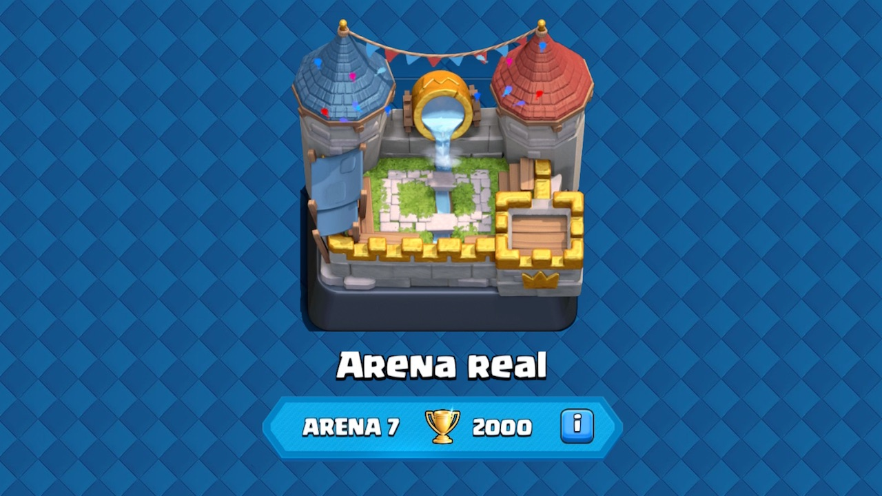 clash royale arena 7 arena real