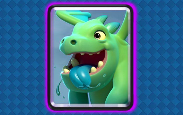 clash royale bebe dragon