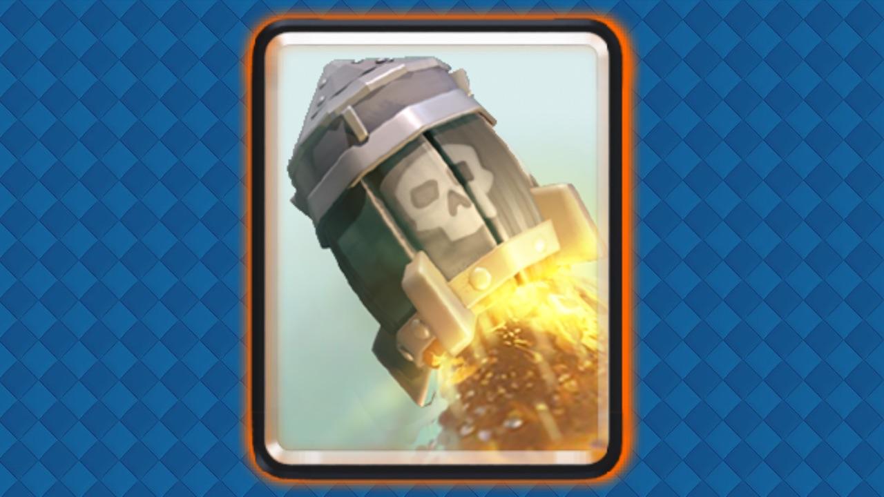 clash royale cohete