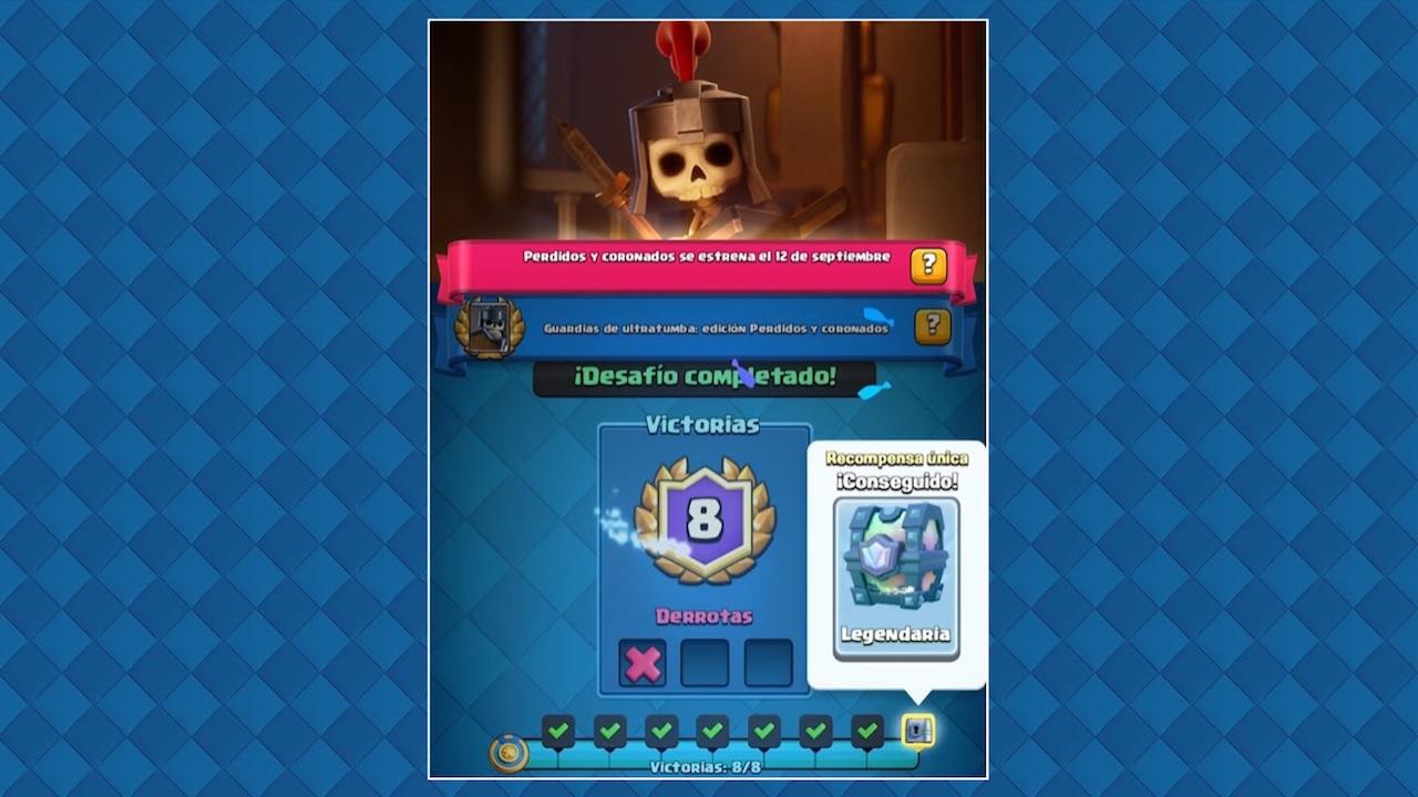clash royale desafio especial daño a las torres