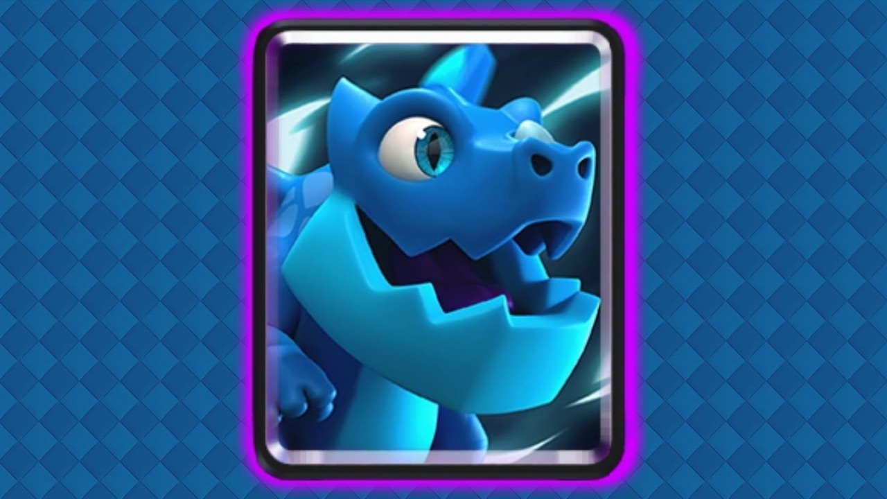 clash royale dragon electrico
