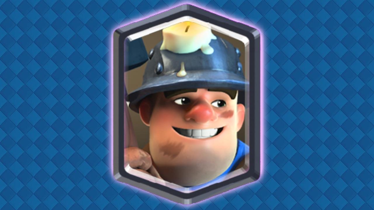 clash royale minero