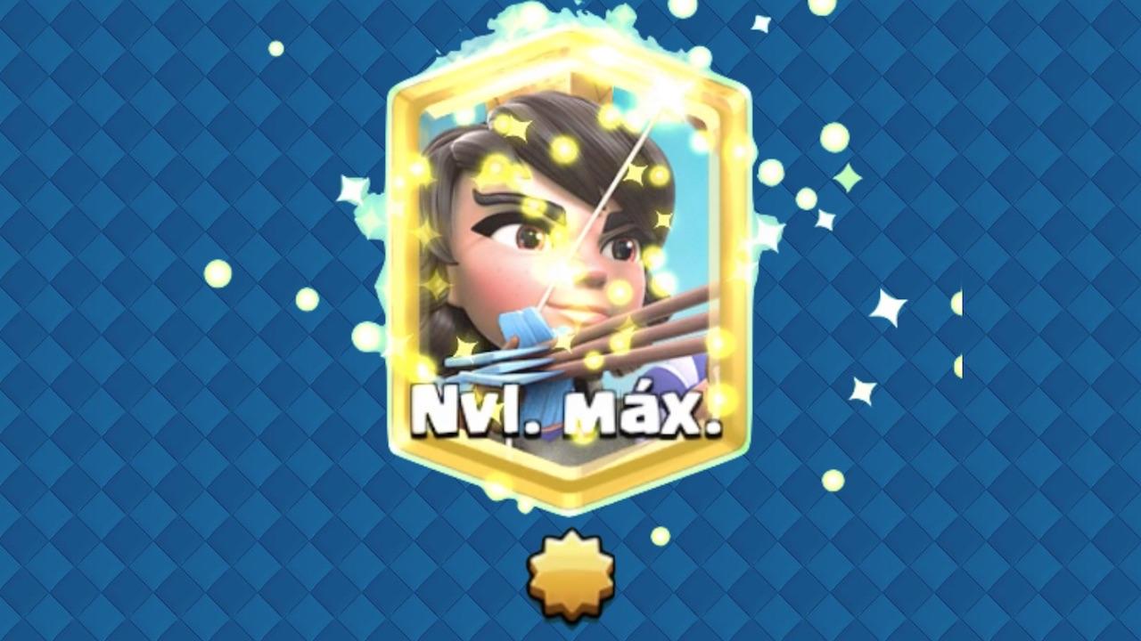 clash royale nivel estelar princesa