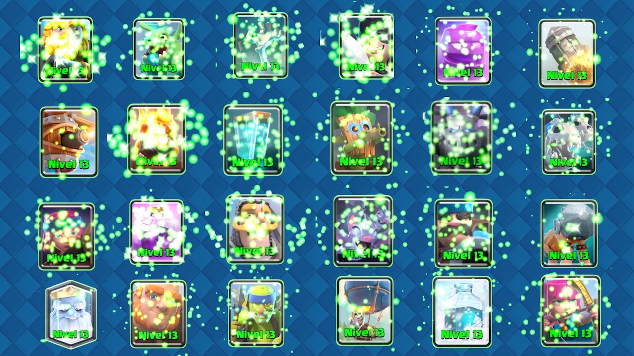 clash royale niveles estelares