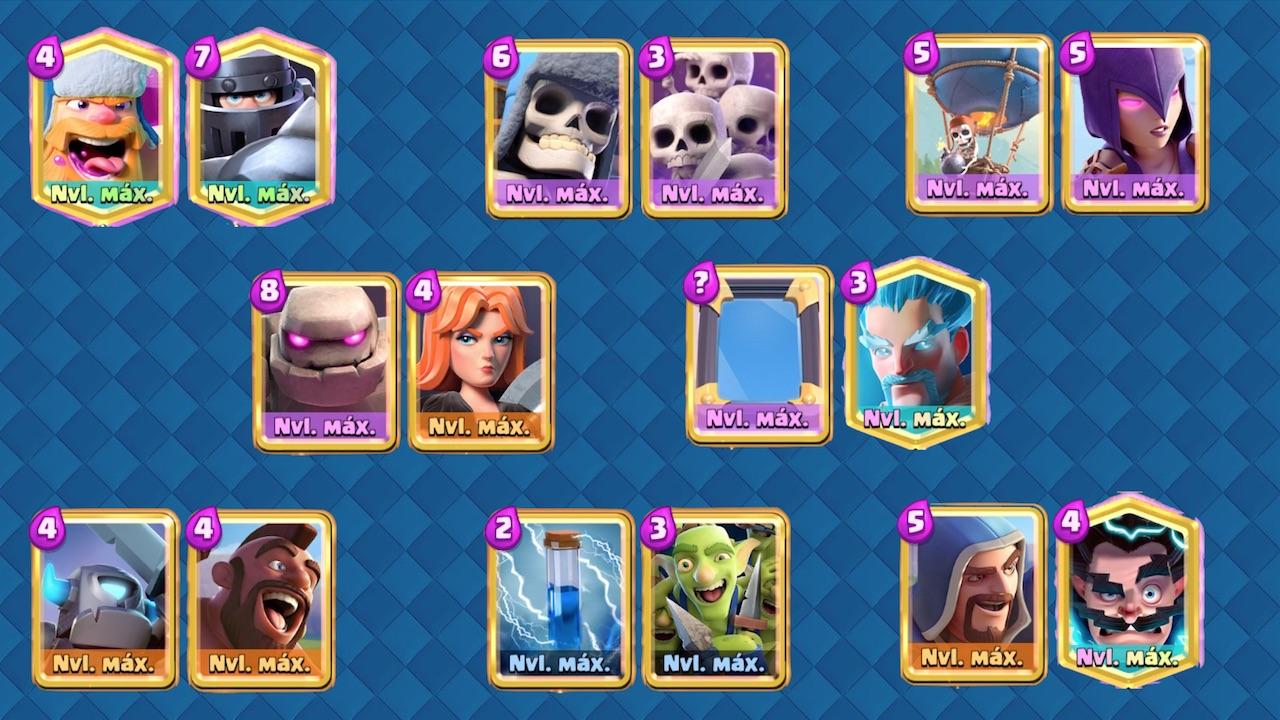 clash royale skins estelares