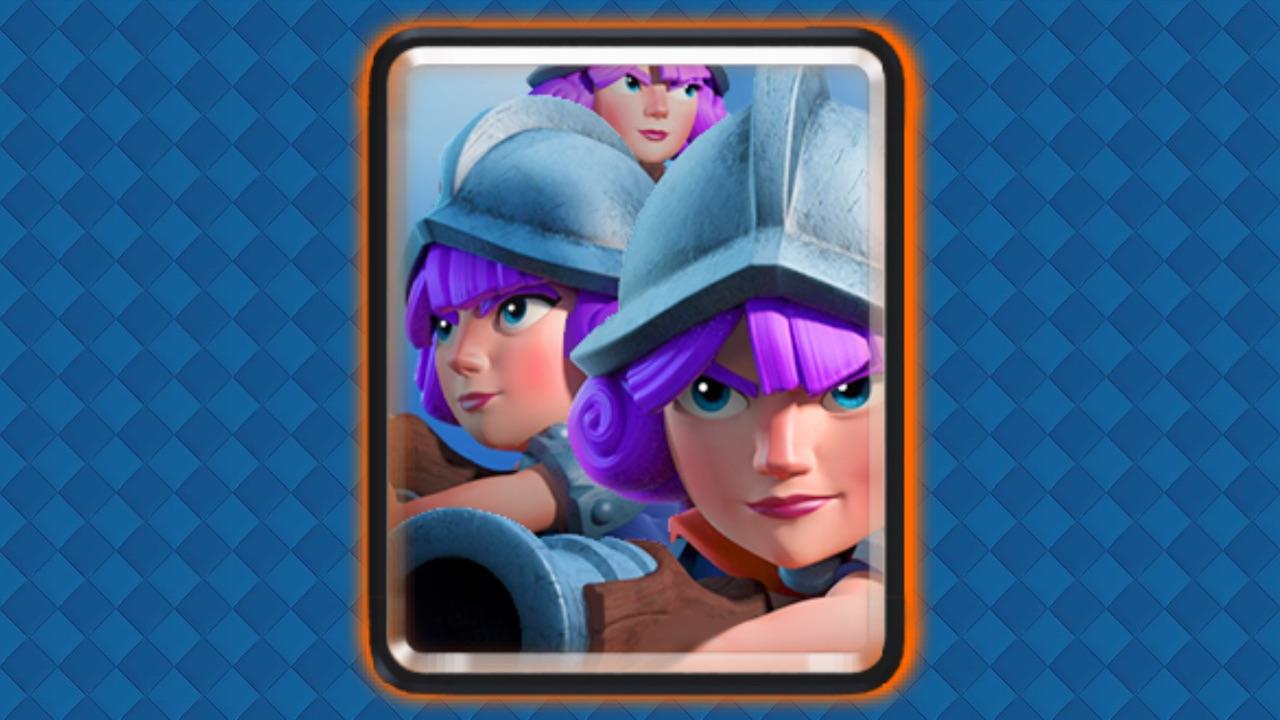 clash royale trio de mosqueteras