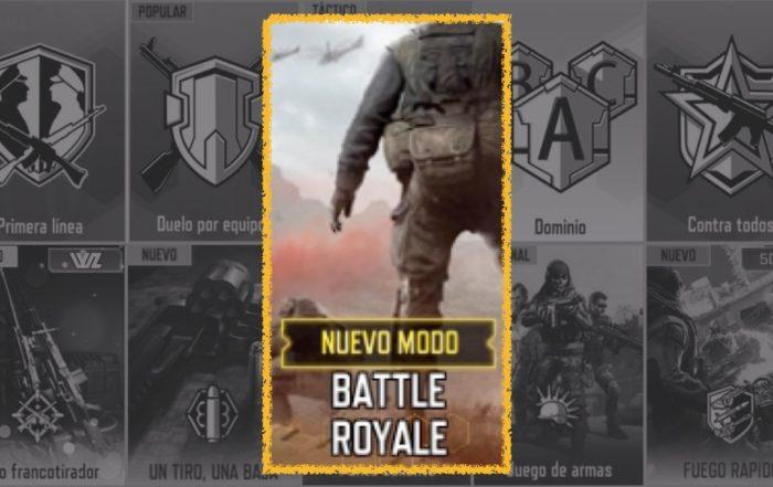 codm modo battle royale