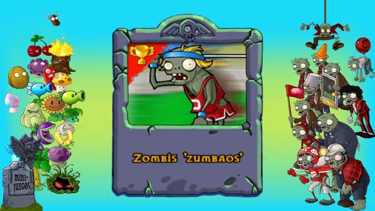 pvz minijuego zombis zumbaos